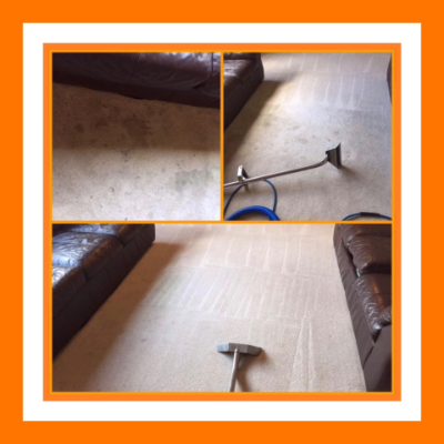 Professional Carpet Cleaning on Cream Carpets