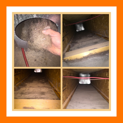furnace and duct cleaning carousel