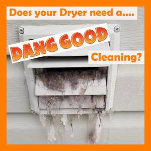 Dryer Vent Cleaning Needed