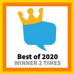 Winner of the HomeStars Best of 2020 Award